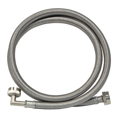 Eastman 4 Ft L 3 4 In Fht Inlet X 3 4 In Outlet Braided Stainless