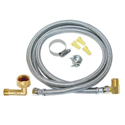 12 ft Length Eastman 69008 Stainless Steel Braided Dishwasher Supply Line