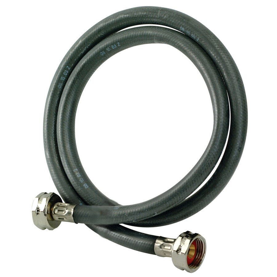 EASTMAN 4-ft 800-PSI Rubber Washing Machine Connector