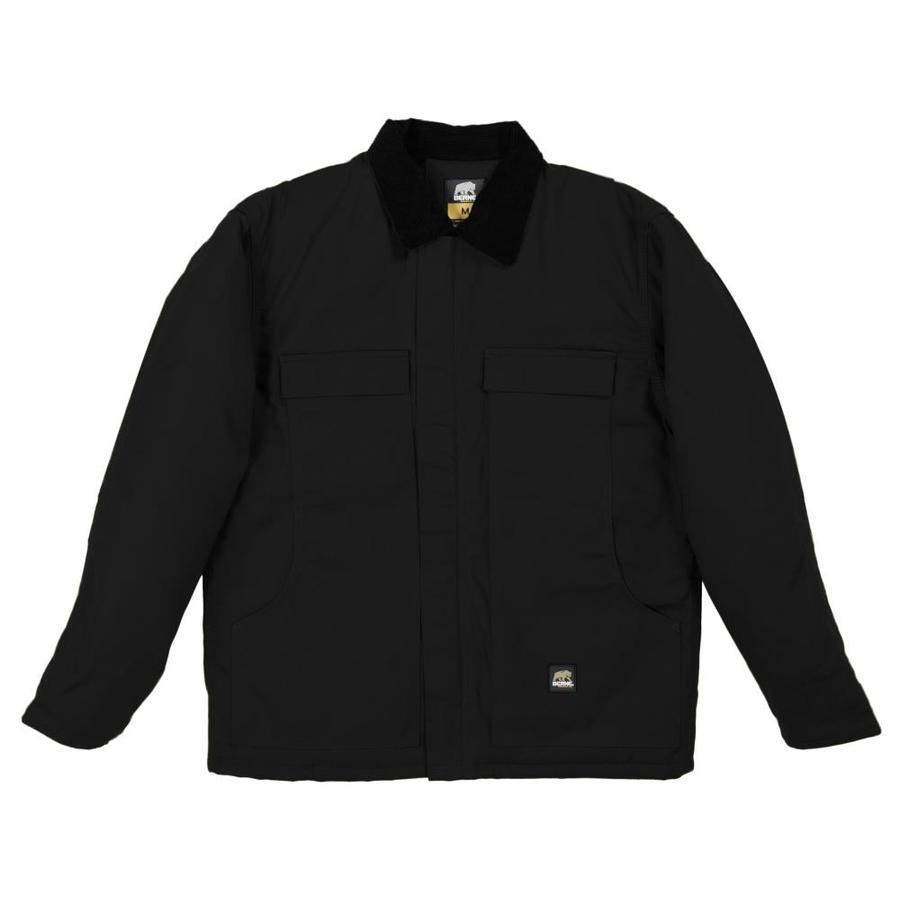BERNE APPAREL Large Men's Rigid Duck Work Jacket