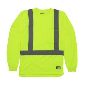 25d2cb8d839 BERNE APPAREL Long Sleeve T-Shirt (X-Large-long)