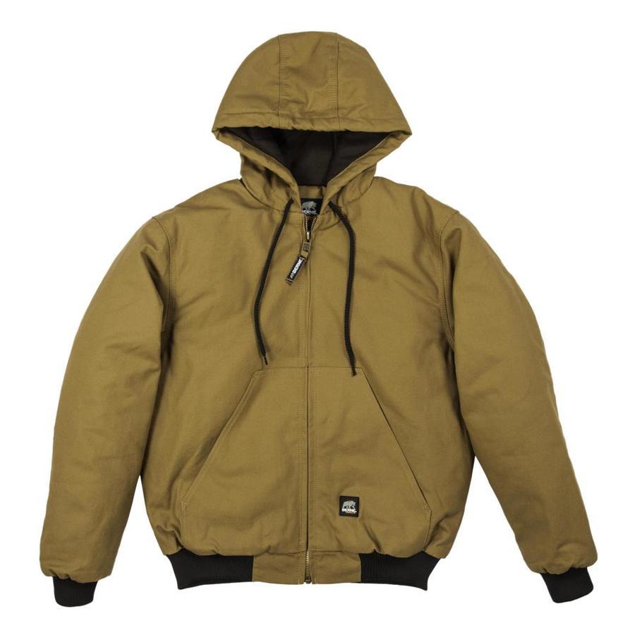 BERNE APPAREL 6XL-Long Men's Rigid Duck Work Jacket