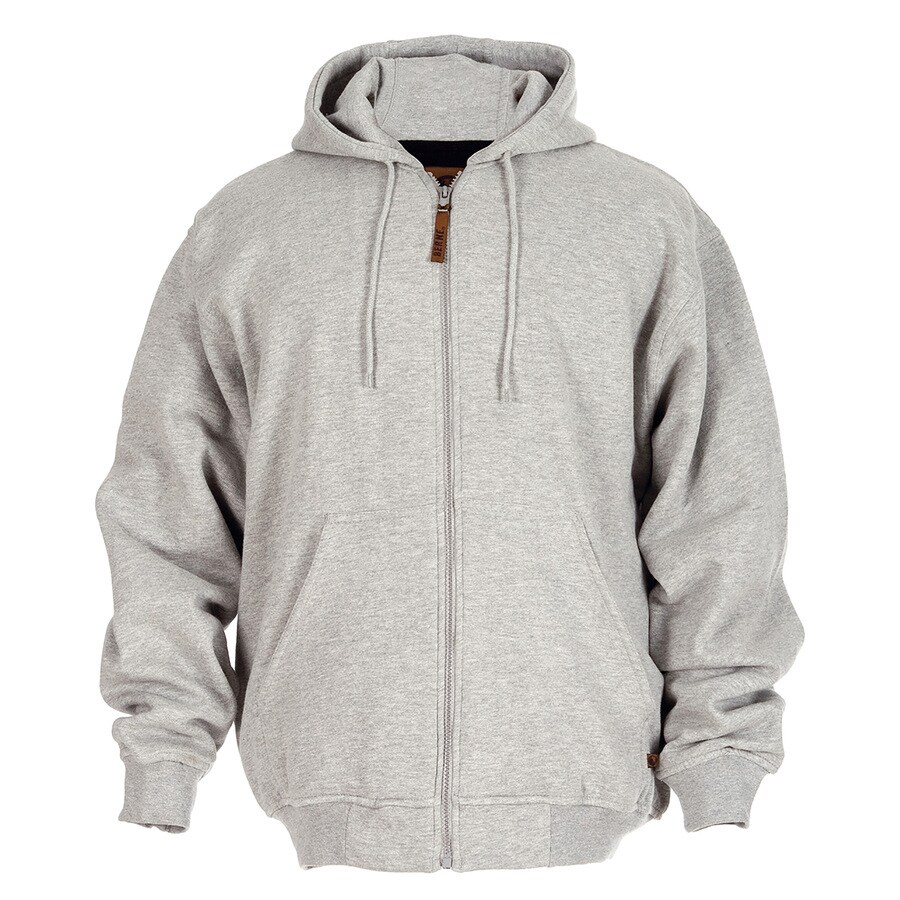 BERNE APPAREL Men's Medium-Long Heather Grey Sweatshirt