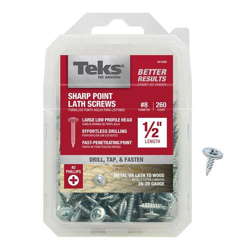 AISI 304 Stainless Steel 18-8 Flat Phillips Drive Self-Tapping Sheet Metal Screws #8 X 1//2 600 pcs TypeA