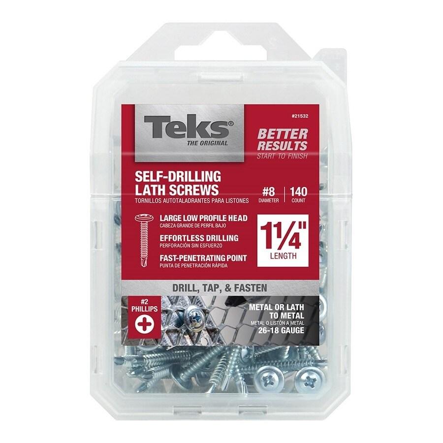 Teks 8 X 1 1 4 In Phillips Drive Sheet Metal Screws 140