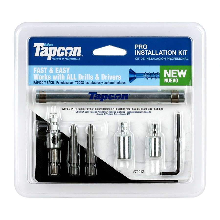 Tapcon 5.75-in Steel Anchor Installation Tool