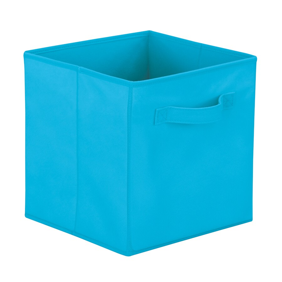 Real Organized Pastel Cube Storage Bin  sc 1 st  Loweu0027s & Shop Real Organized Pastel Cube Storage Bin at Lowes.com
