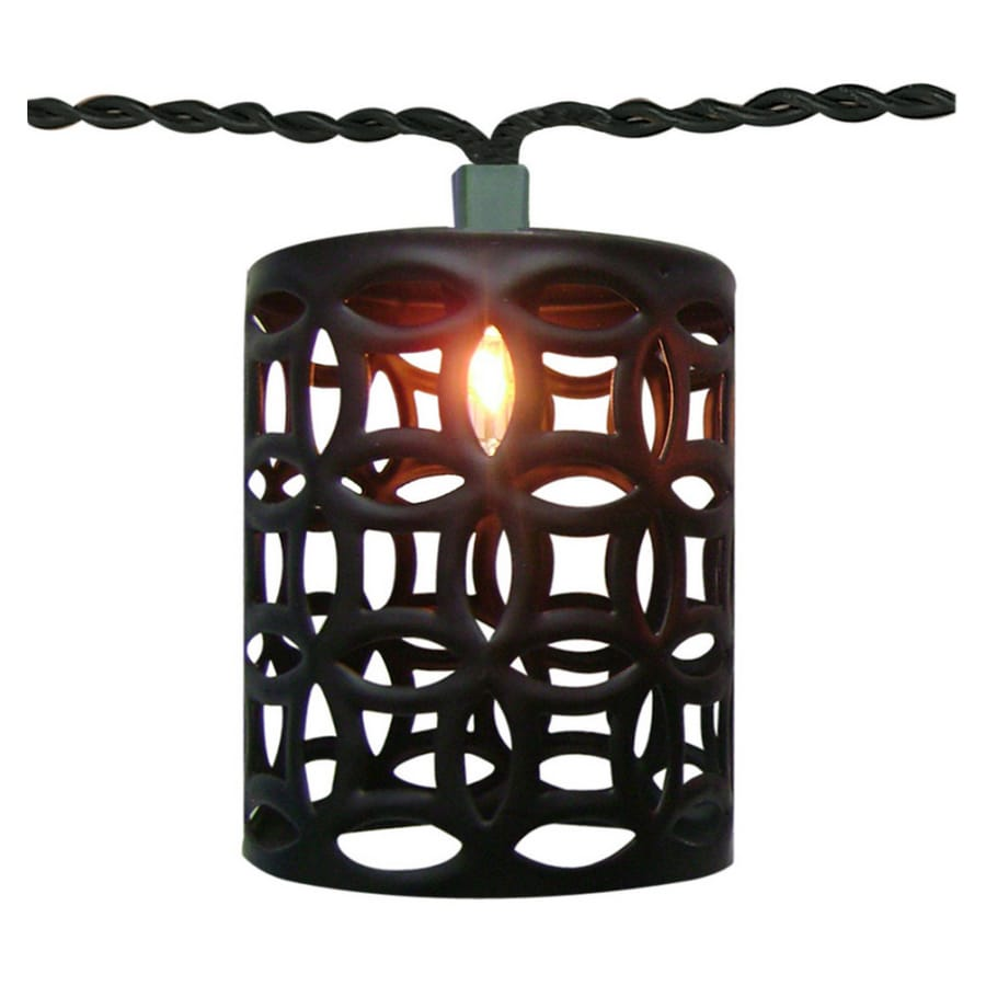 10 Count Lantern Patio String Lights