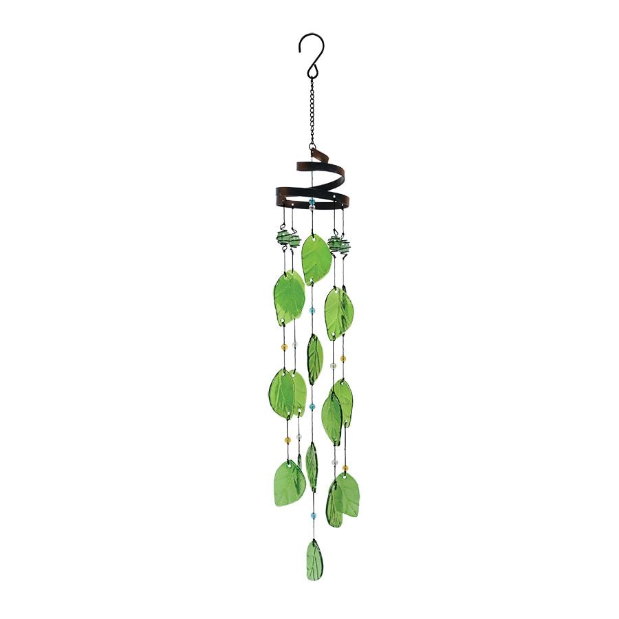 shop garden treasures 28 in multi color metal wind chime. Black Bedroom Furniture Sets. Home Design Ideas