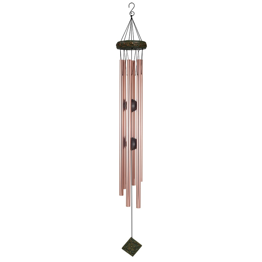 Garden Treasures 57-in Multi-Color Metal Wind Chime
