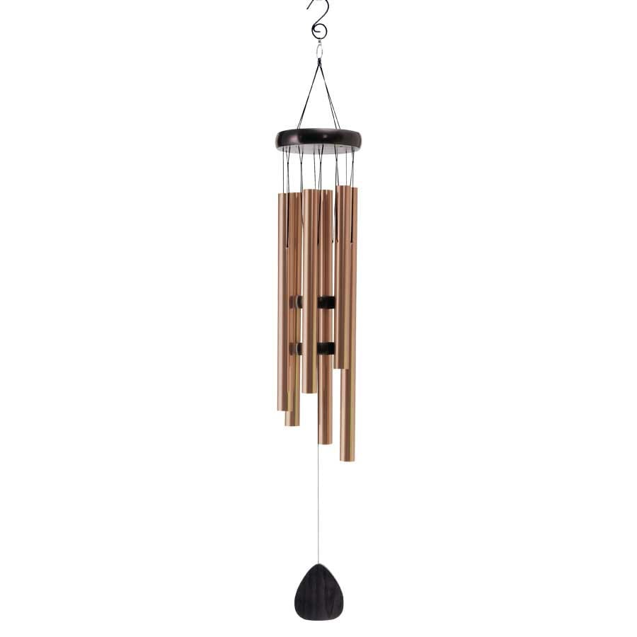 Garden Treasures Bronze Metal Wind Chime