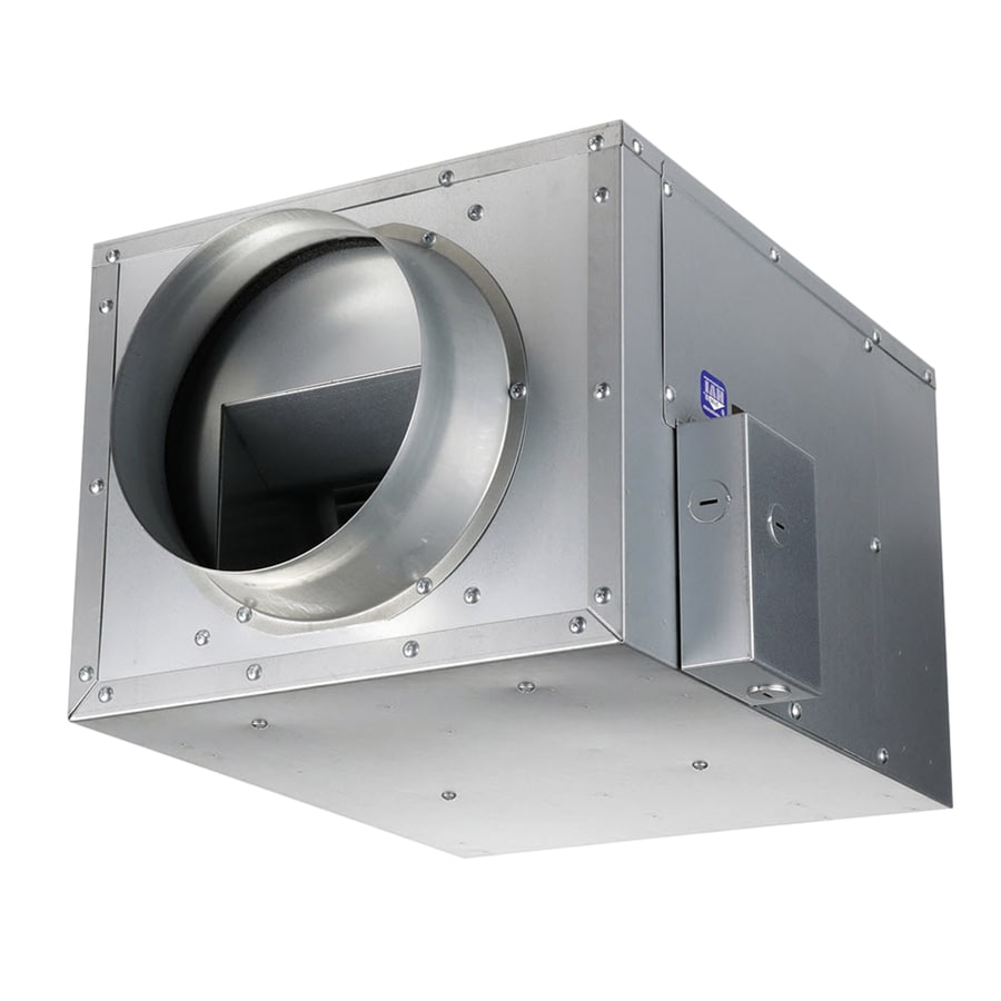 Inline Vent Fans For Bathrooms : Shop panasonic sone cfm white bathroom fan at