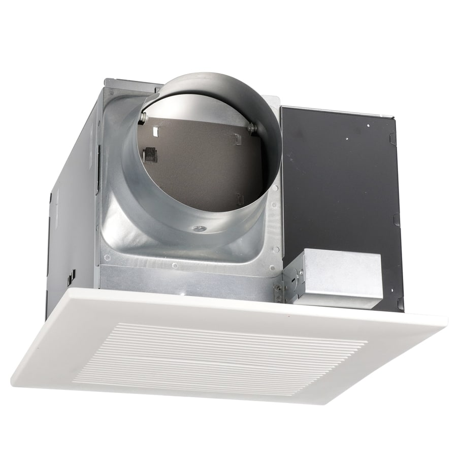 Shop Panasonic 2 Sone 290 Cfm White Bathroom Fan Energy