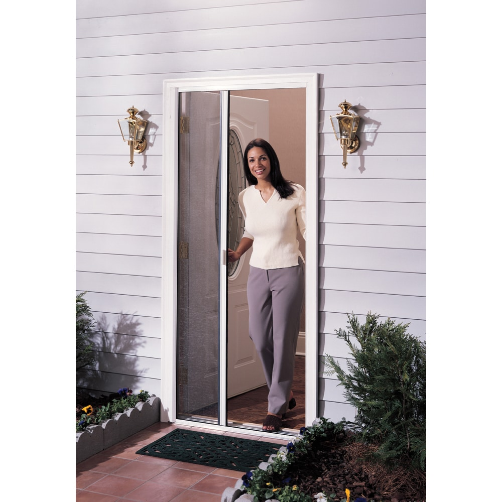Larson Ultra Breeze White Retractable Screen