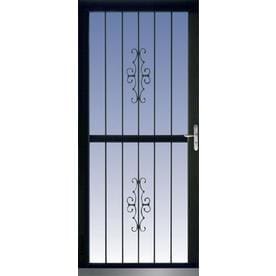 security doors at lowes. Perfect Security LARSON Aluminum Recessed Mount Single Security Door With Doors At Lowes K