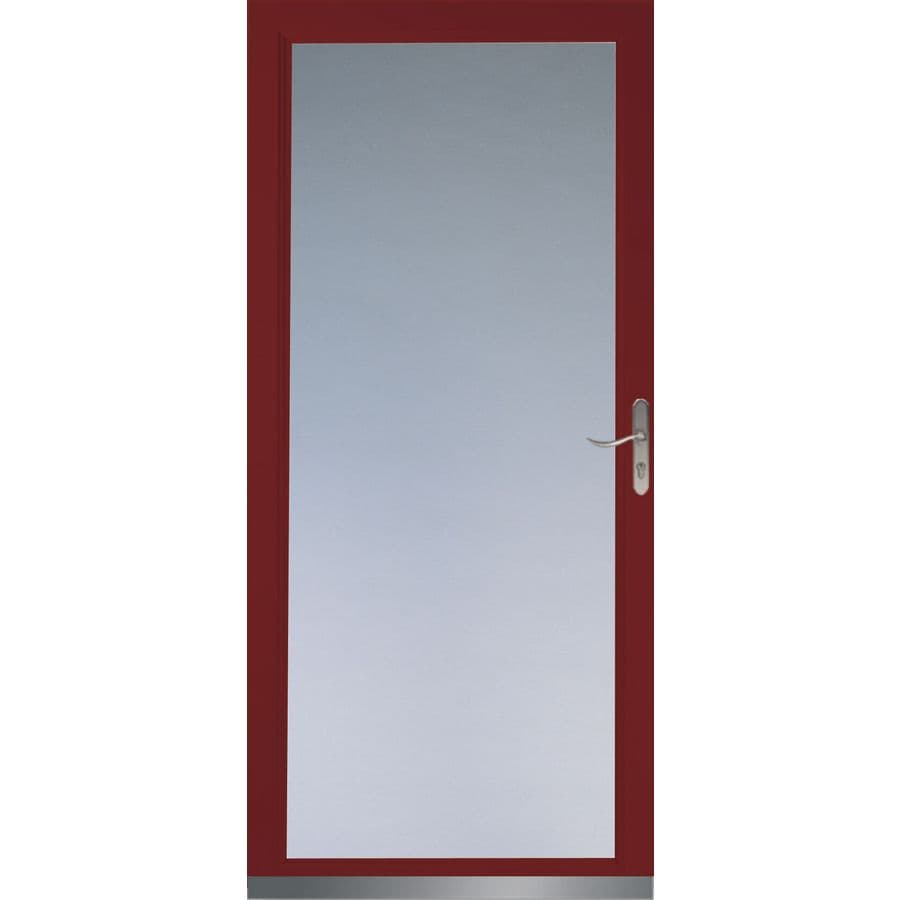 Shop LARSON Signature Low-E Cranberry Full-View Tempered Glass ...