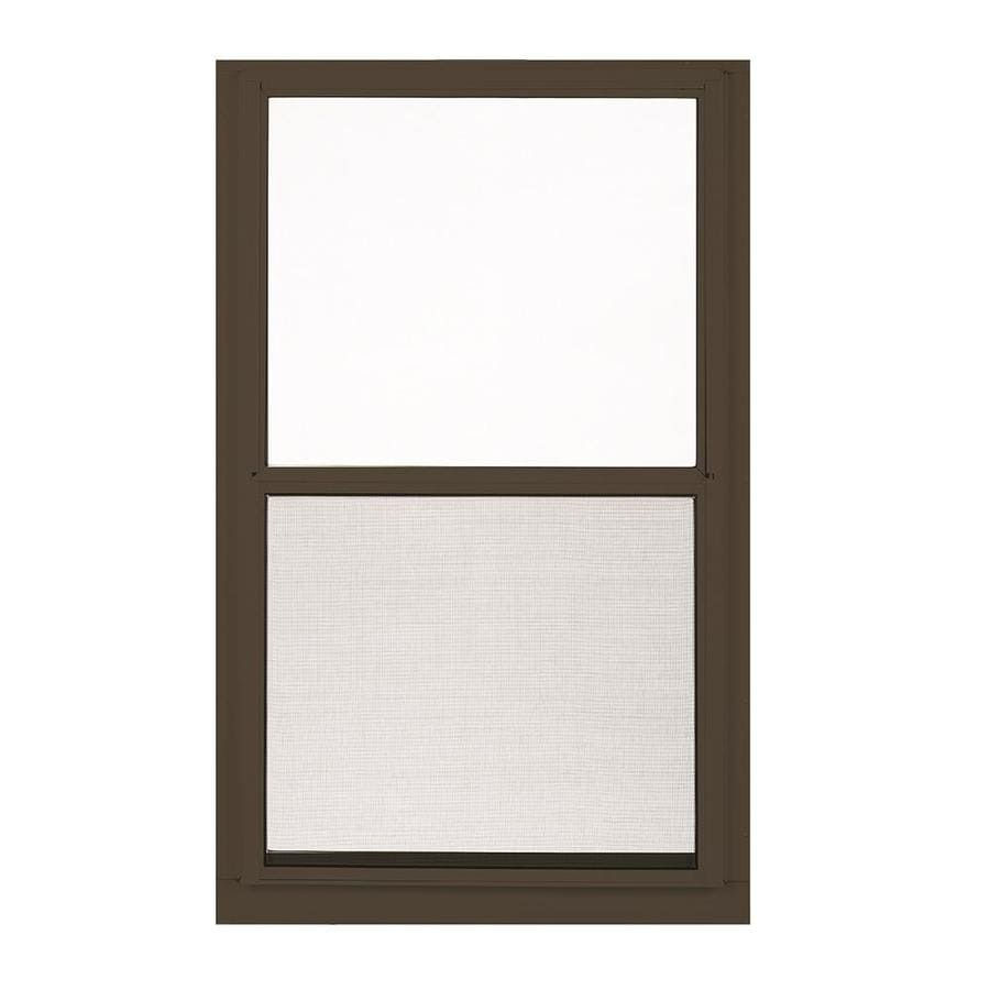 Etonnant LARSON Low E Aluminum Brown Window (Rough Opening: 36 In X 55