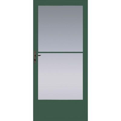 Pella Green Storm Doors At Lowes Com