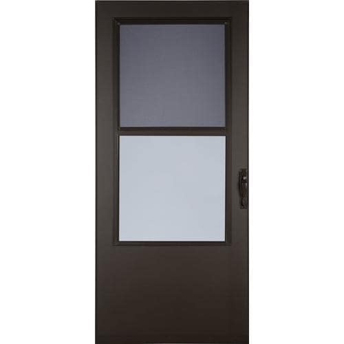 Larson 36 In X 81 In Brown Mid View Storm Door In The Storm Doors Department At Lowes Com Competitors try but cannot beat our prices. larson 36 in x 81 in brown mid view storm door lowes com
