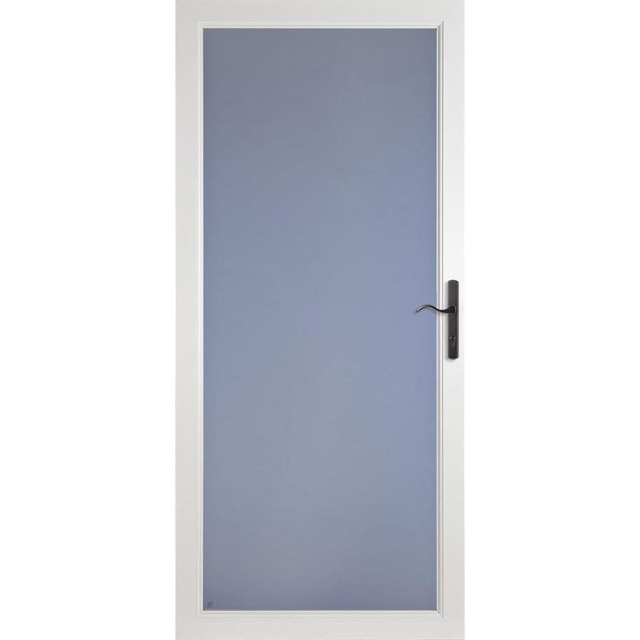 shop larson secure elegance white full view aluminum