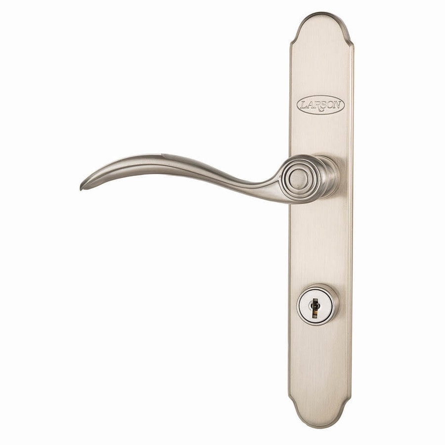 shop aged lowes at pl com quickfit handle larson matching handleset door storm screen hardware bronze