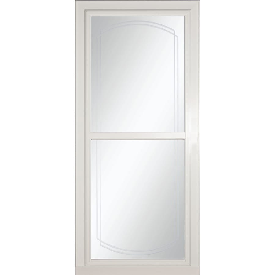 Shop storm doors at lowes larson tradewinds selection full view aluminum storm door common 36 in x eventelaan Gallery