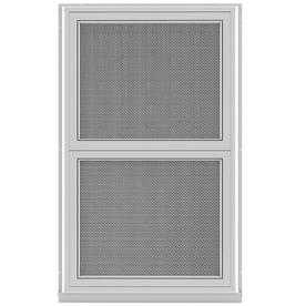 Larson Securepro Single Glazed Security Aluminum White Window Rough Opening 24 In