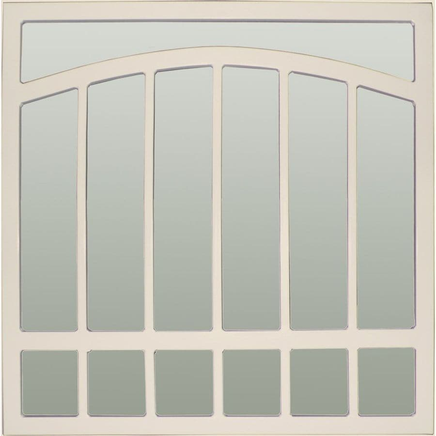Gatehouse Arched 30-in Almond Arched Window Security Bar