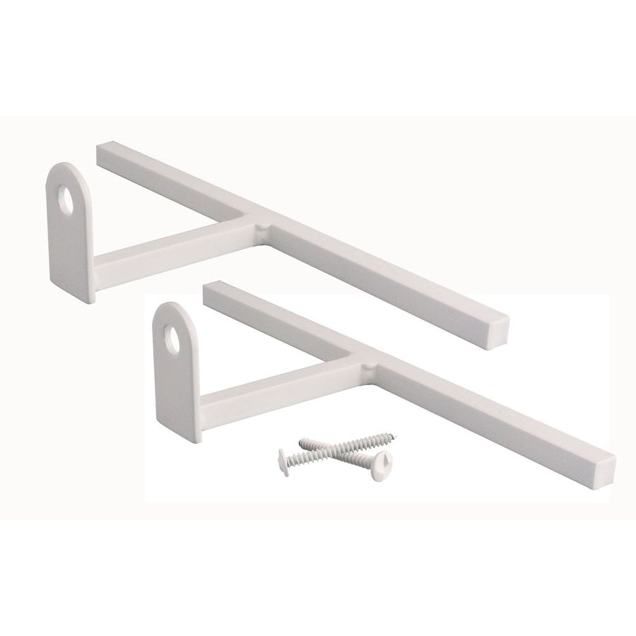 Gatehouse T-Bracket White