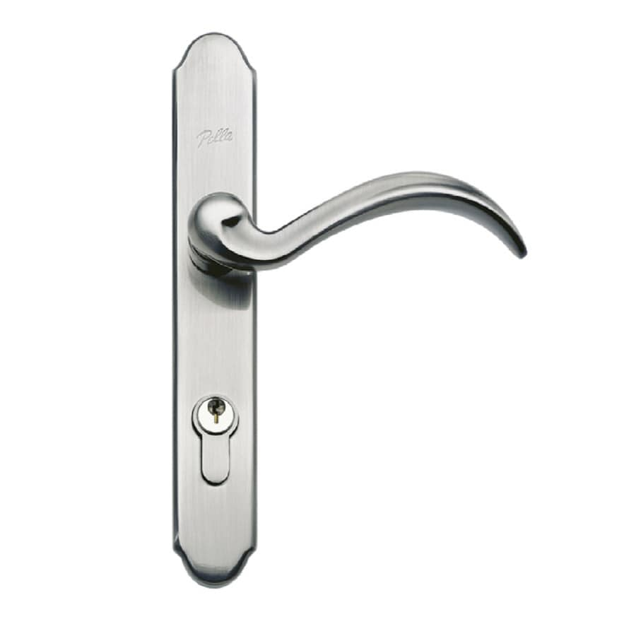 door in p handle nickel storm latch screen castellan store sku latches metallics satin surface wright products