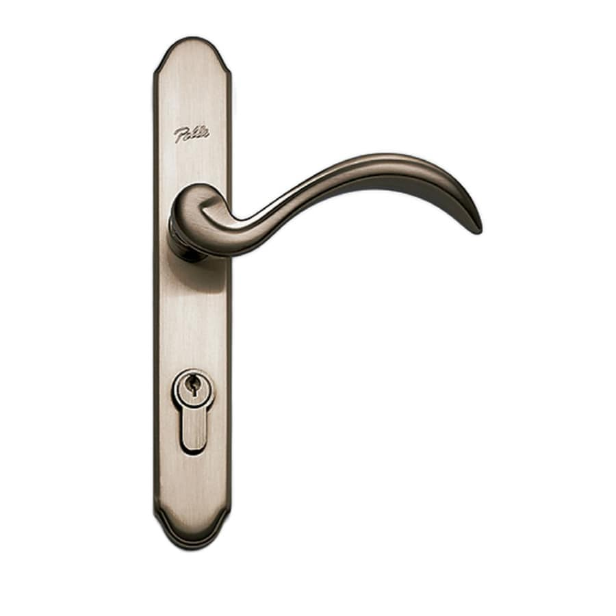 lever camelot p handle acc cam v with satin door accent nickel schlage handlesets