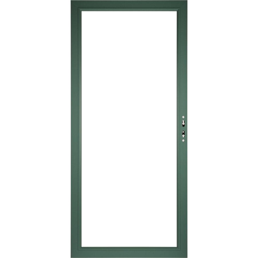 Pella Select Aluminum 36 In X 81 In Hemlock Storm Door