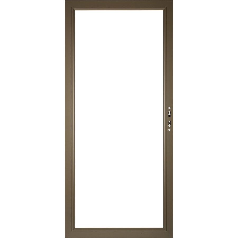 Pella Select Aluminum 36-in x 81-in Storm Door Frame