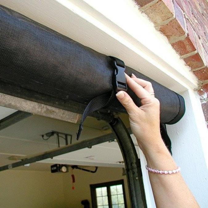 Larson 9 Ft X 7 Ft Roll Up Single Garage Door Screen In