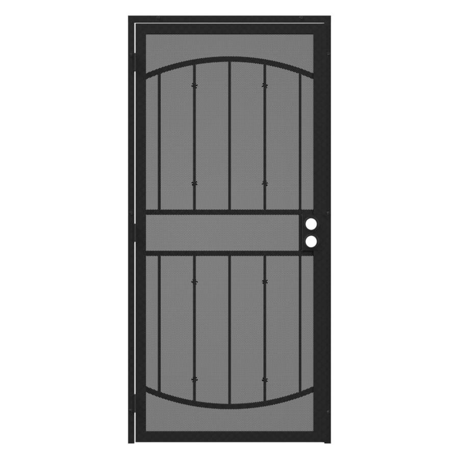 Gatehouse Gibraltar Max Silverado Steel Surface Mount Single Security Door (Common: 36-in x 81-in; Actual: 39-in x 81.75-in)
