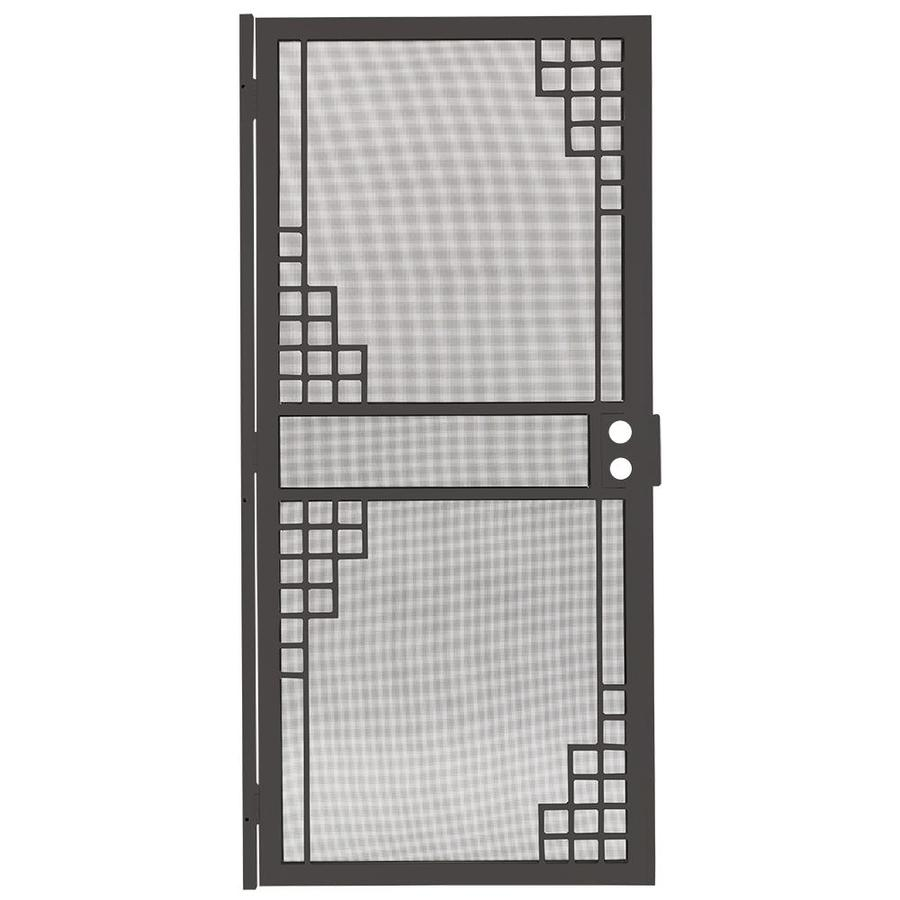 Gatehouse Steel Surface Mount Single Security Door (Common: 36-in x 81-in; Actual: 39-in x 81.75-in)