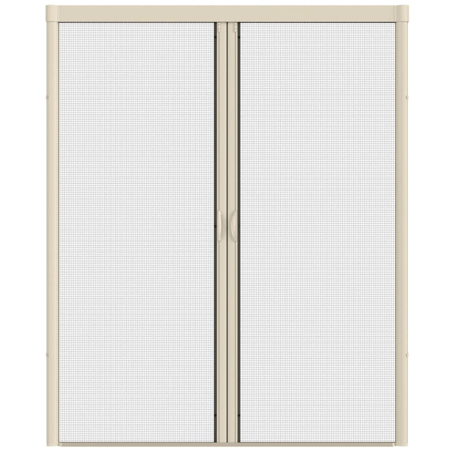 Retractable screen doors for french doors at lowes ask for Retractable screen door