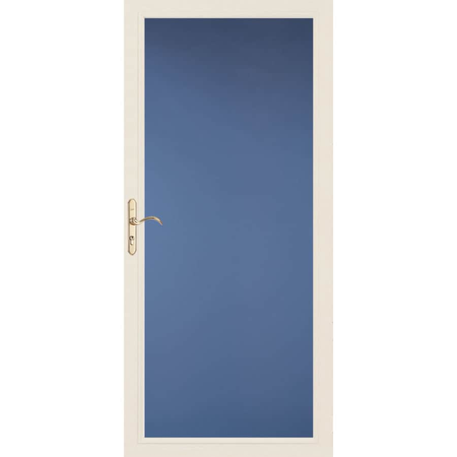 Pella Select Full-View Low-E Single Paned Glass Storm Door (Common: 36-in x 81-in; Actual: 35.75-in x 79.875-in)