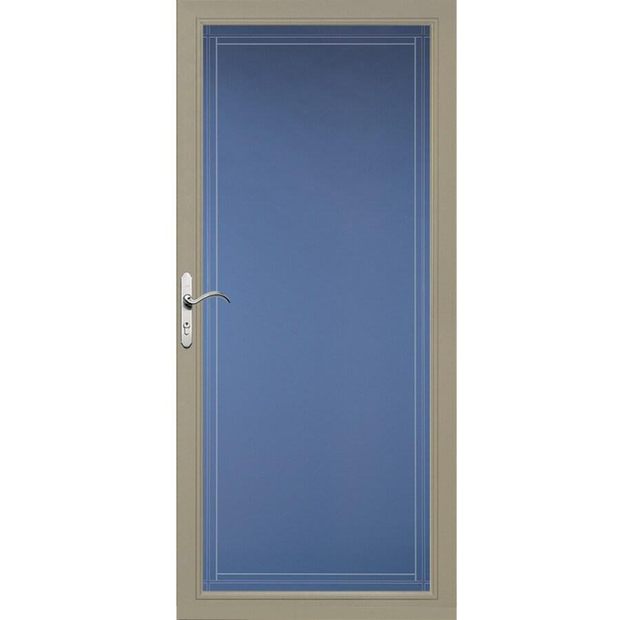 Pella Select Putty Full-View Aluminum Standard Storm Door  (Common: 36-in x 81-in; Actual: 35.75-in x 79.875-in)