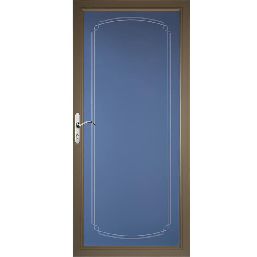 Pella Select Full-View Tempered Glass Storm Door (Common: 36-in x 81-in; Actual: 35.75-in x 79.875-in)