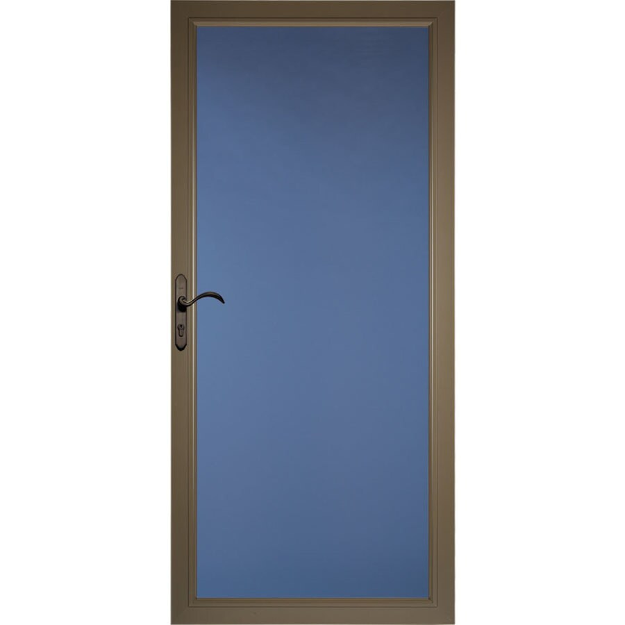 Pella Select Portobello Full-View Aluminum Storm Door (Common: 36-in x 81-in; Actual: 35.75-in x 79.875-in)