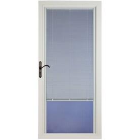 Genial Pella Select White Full View Aluminum Storm Door