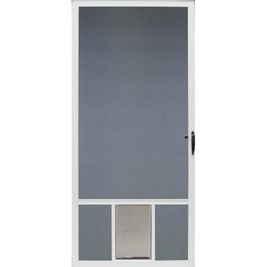 front retractable storm with at awesome door lowes doors screen