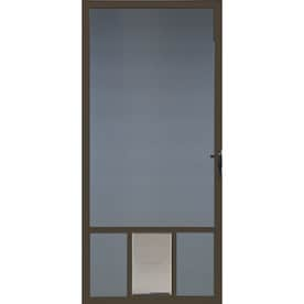 Shop screen doors at - 30 x 80 exterior door with pet door ...