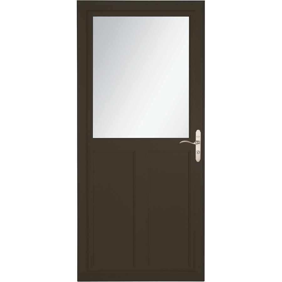 Shop Larson Tradewinds Selection Brown High View Aluminum