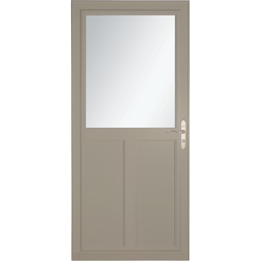 Shop larson tradewinds selection sandstone high view for Phantom door screens prices