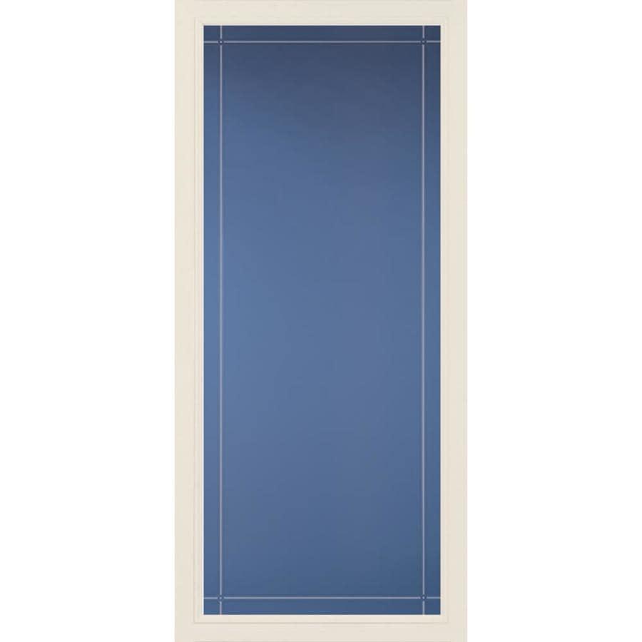 Pella Pella Select Poplar White Full-view Aluminum Storm Door (Common: 36 x 81 (Actual: 35.75 x 79.875)