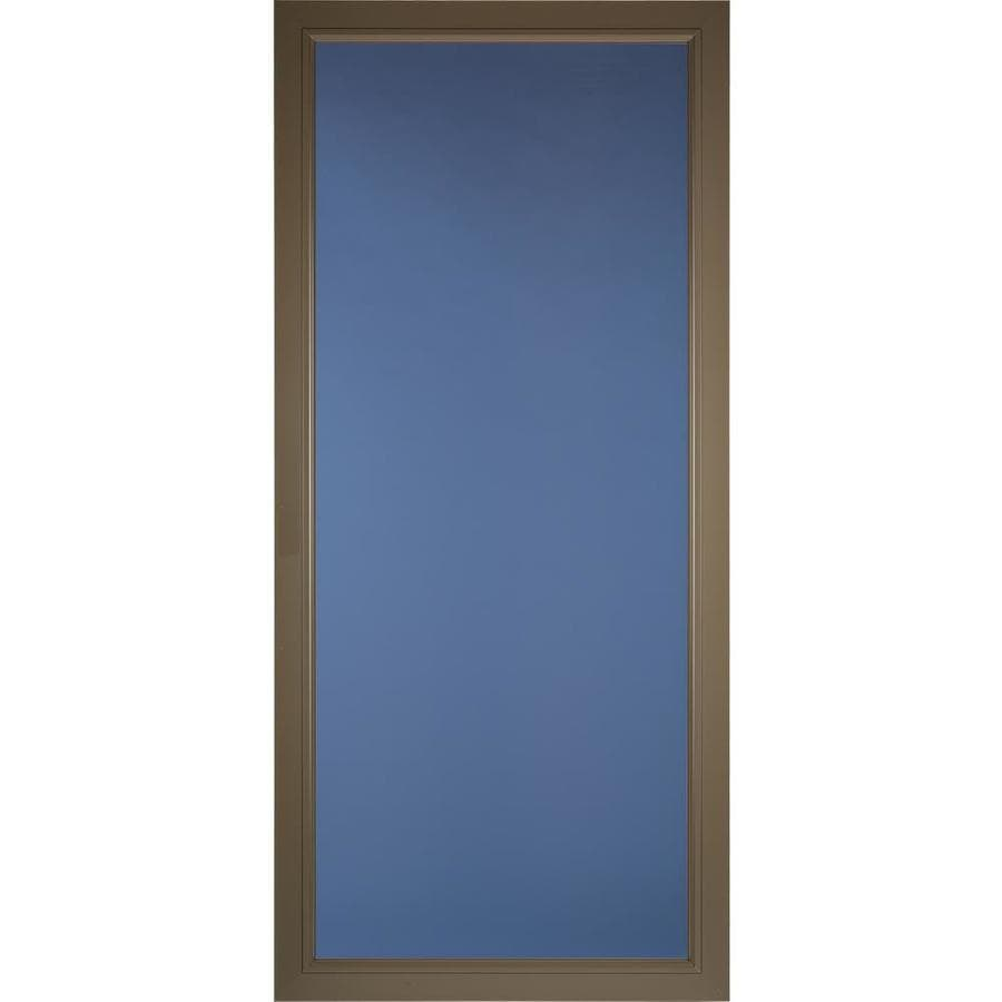 Pella Pella Select Portobello Full-view Aluminum Storm Door (Common: 36 x 81 (Actual: 35.75 x 79.875)