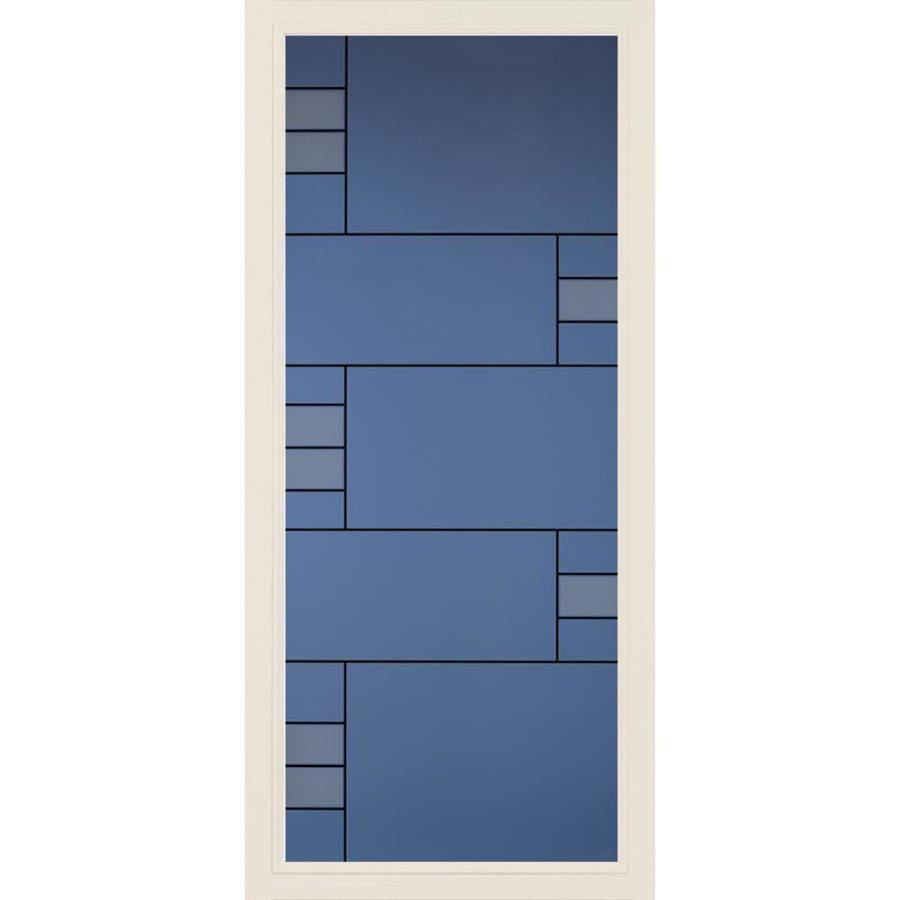 Pella Select Poplar White Full-View Aluminum Standard Storm Door (Common: 36-in x 81-in; Actual: 35.75-in x 79.875-in)