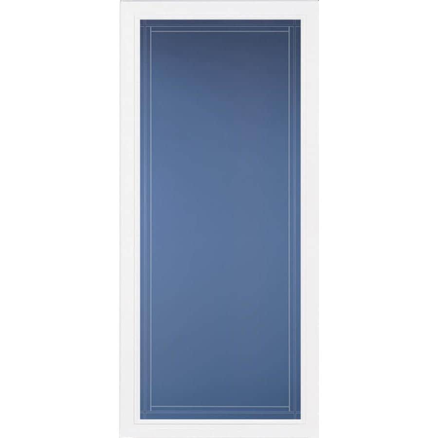 Pella Select White Full-View Aluminum Standard Storm Door (Common: 36-in x 81-in; Actual: 35.75-in x 79.875-in)